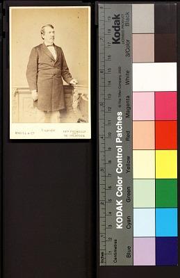 David Livingstone Carte De Visite Photographic Portraits