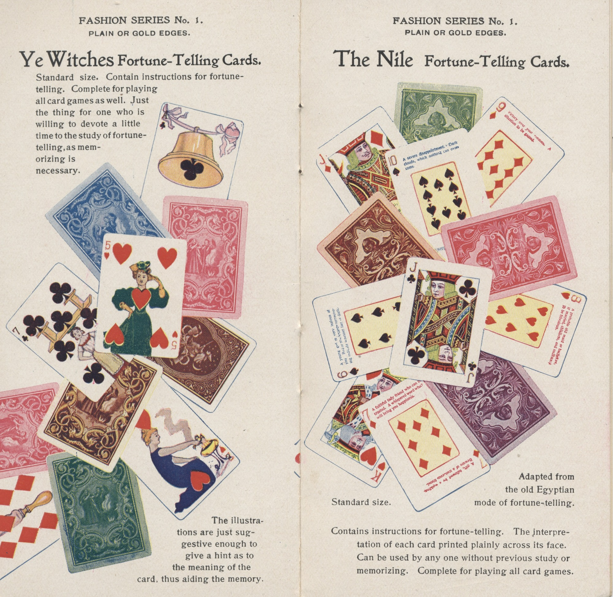 Ye Witches Fortune-Telling Cards