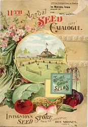 Livingston's Seed Store, 11th Annual Seed Catalogue