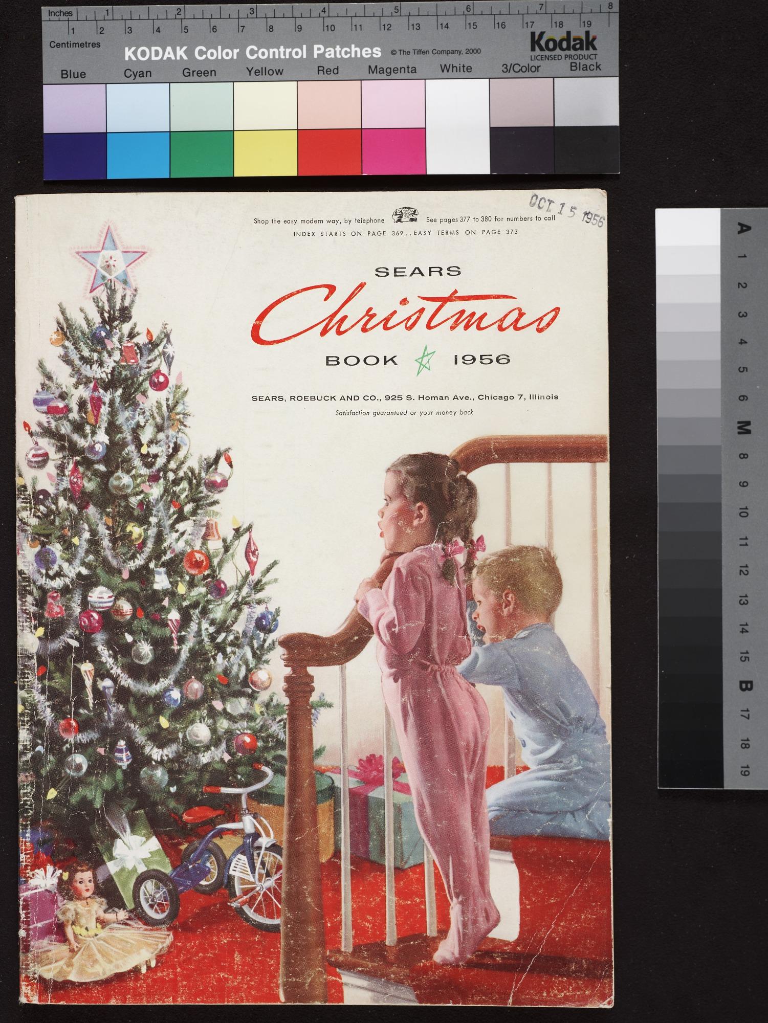 Sears Christmas Photos.Cover Of Sears Christmas Book 1956