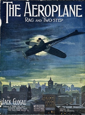 The aeroplane : rag and two-step / by Jack Glogau