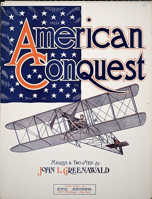 American conquest : march and two step / by John L. Greenawald
