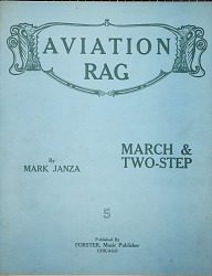 Aviation rag : march & two-step / by Mark Janza