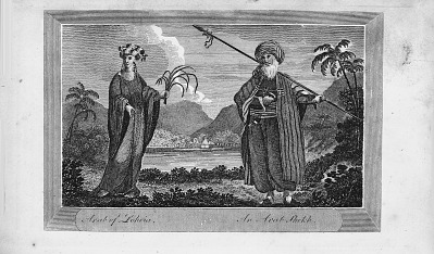 An Arab Sheikh from Travels between the years 1765 and 1773 through part of Africa, Syria, Egypt, and Arabia into Abyssinia.