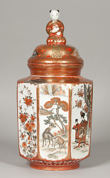 """Futa-Tsubo"" Covered-Jar"
