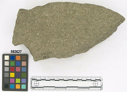 Ñaupe surface - metate fragment