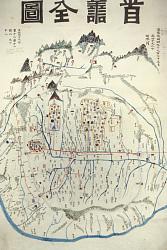 Map Of Seoul (Suseon Jeondo)