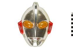 Silver Robot Mask
