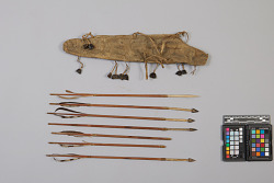 Arrows, And Quiver For Fishing
