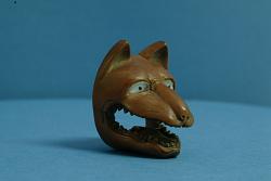 Netsuke (Fox Head)