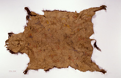 Pictured Buffalo Robe