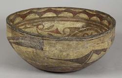 Earthen Bowl, Ornamented