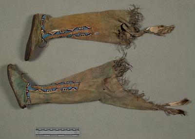 Girl's Clothing Set: Moccasin Leggings