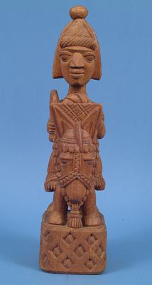 Figurative Sculpture: Man on Horseback