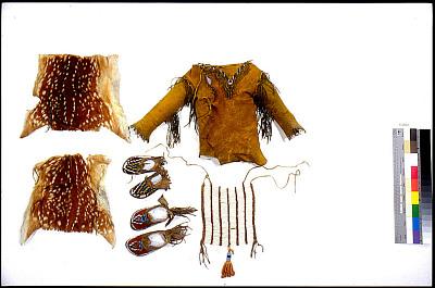 Baby Boy's Clothing Set: Moccasins