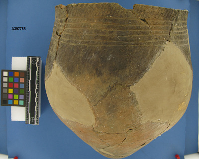 Pottery Vessel, Townsend Incised Band