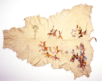 Painting On Buckskin