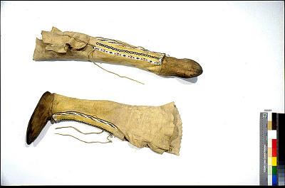 Pair Of Moccasin-Leggings