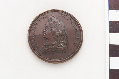 George II peace medal