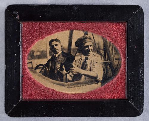 Tony Stadhlman and Bud Morriss Souvenir Framed Photograph