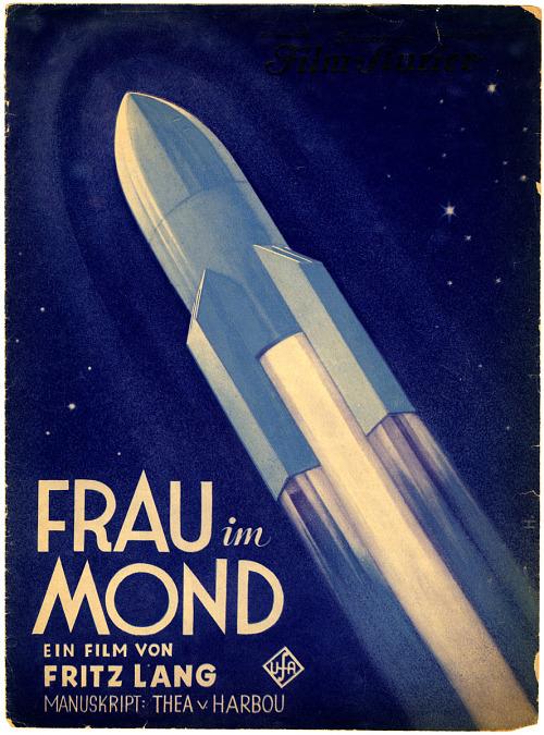 """Illustrierter Film-Kurier Program, """"Frau im Mond"""""""