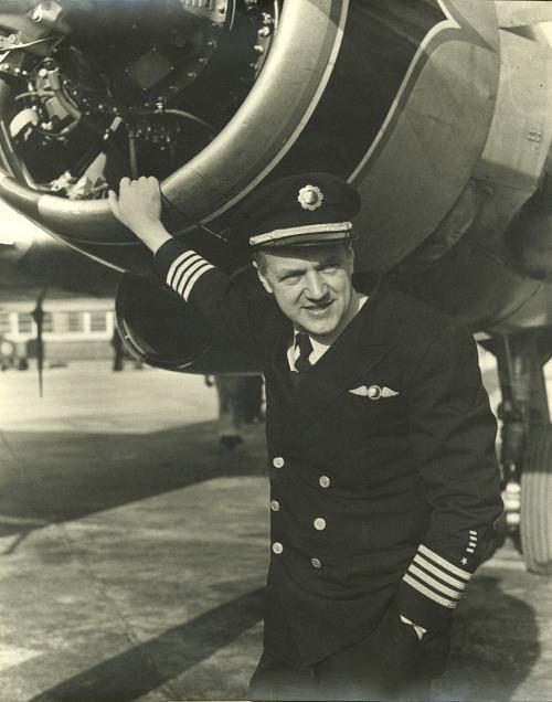 Photograph of Nicholas Zelinka (Eastern Air Lines Pilot)