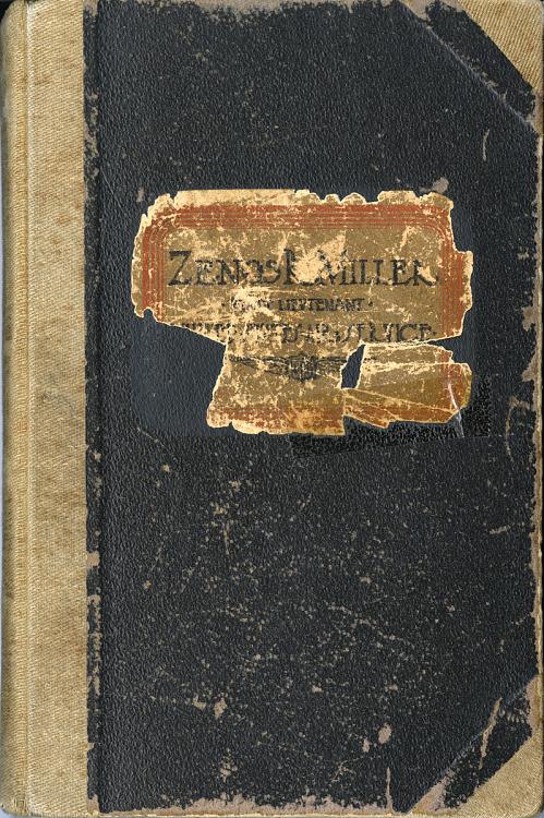 Zenos R. Miller World War I Diaries