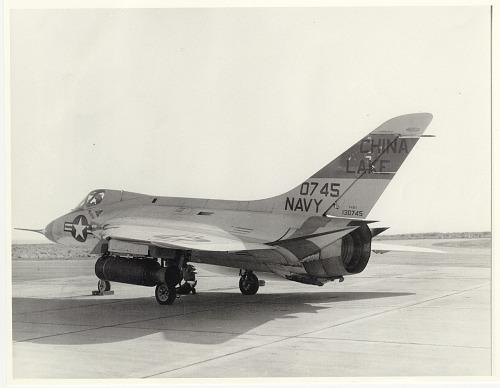 Douglas F-4D-1 Skyray (black and white inkjet digital copy print of black and white original)