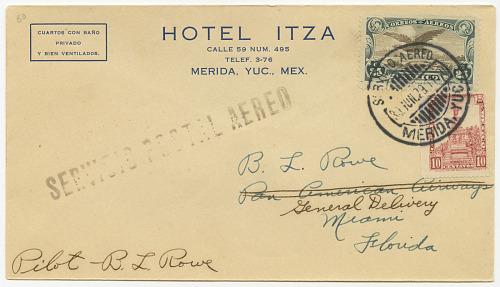 Mérida, Yucatan (Mexico) to Miami, Florida (USA)
