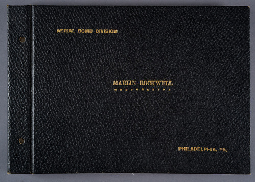 Aerial Bomb Division, Marlin-Rockwell Corporation Photograph Album