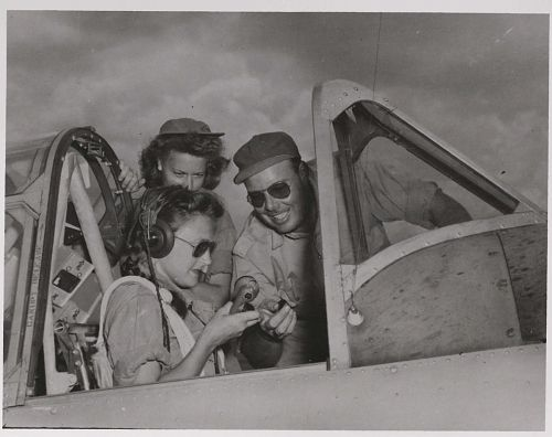 WASPs Binder: Pictures of Life and Training of the Women's Air Force Service Pilots