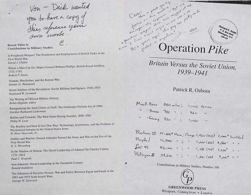 Operation Pike - Britain Versus the Soviet Union, 1939-1941