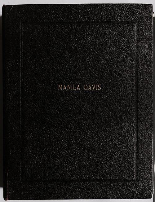 Manila Davis Talley Scrapbook