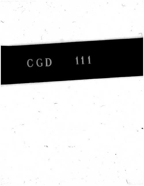CGD-111 : Aerodynamic Lift at Supersonic Speeds