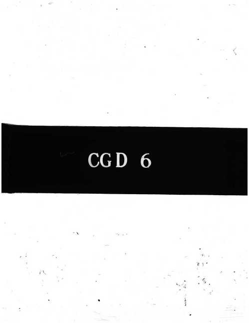 CGD-6 : The History of the Hollow Charge Effect