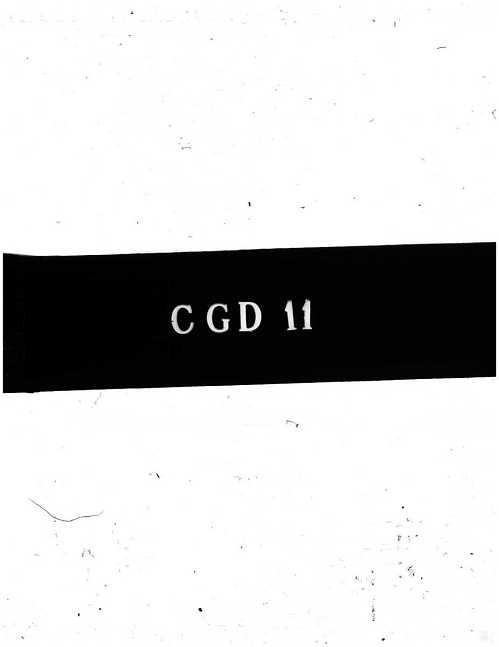 "CGD-11 : Description of the ""Kakadu"" Proximity Fuse (German)"