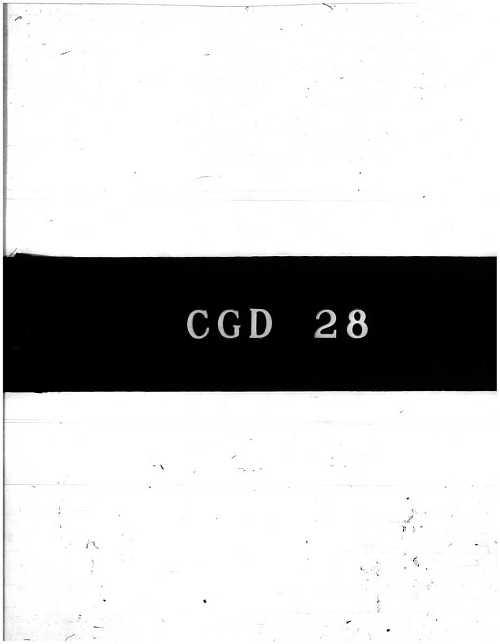 CGD-28 : Me 163 B Airplane Manual, Part 6 - Power Plant - Description, Part 7 - Power Plant Control and Maintenance