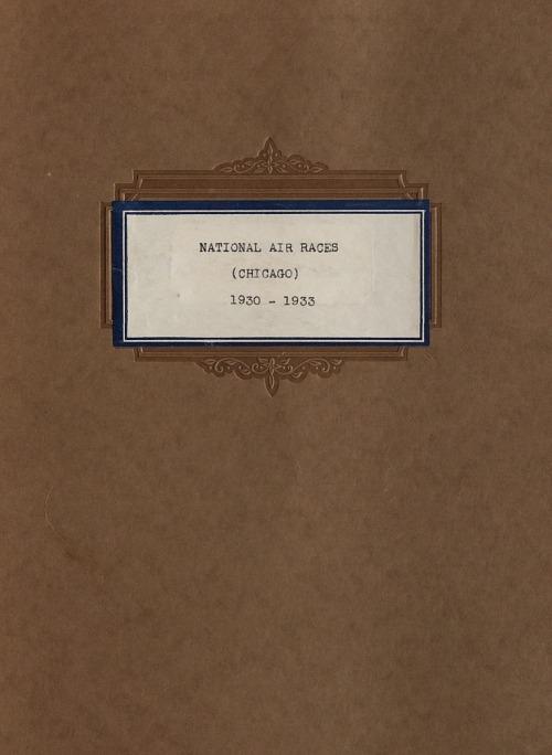 National Air Races Scrapbooks