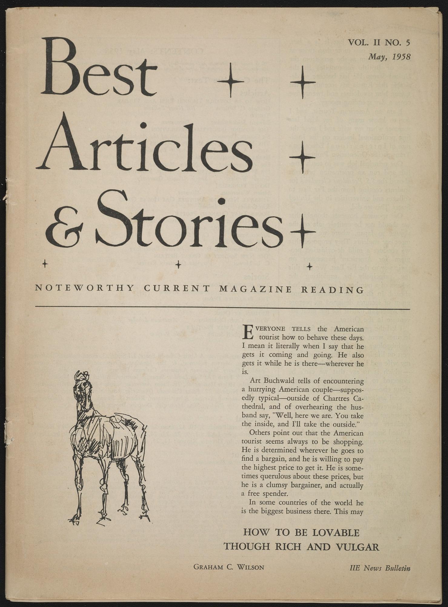 Miscellaneous Literary Magazines