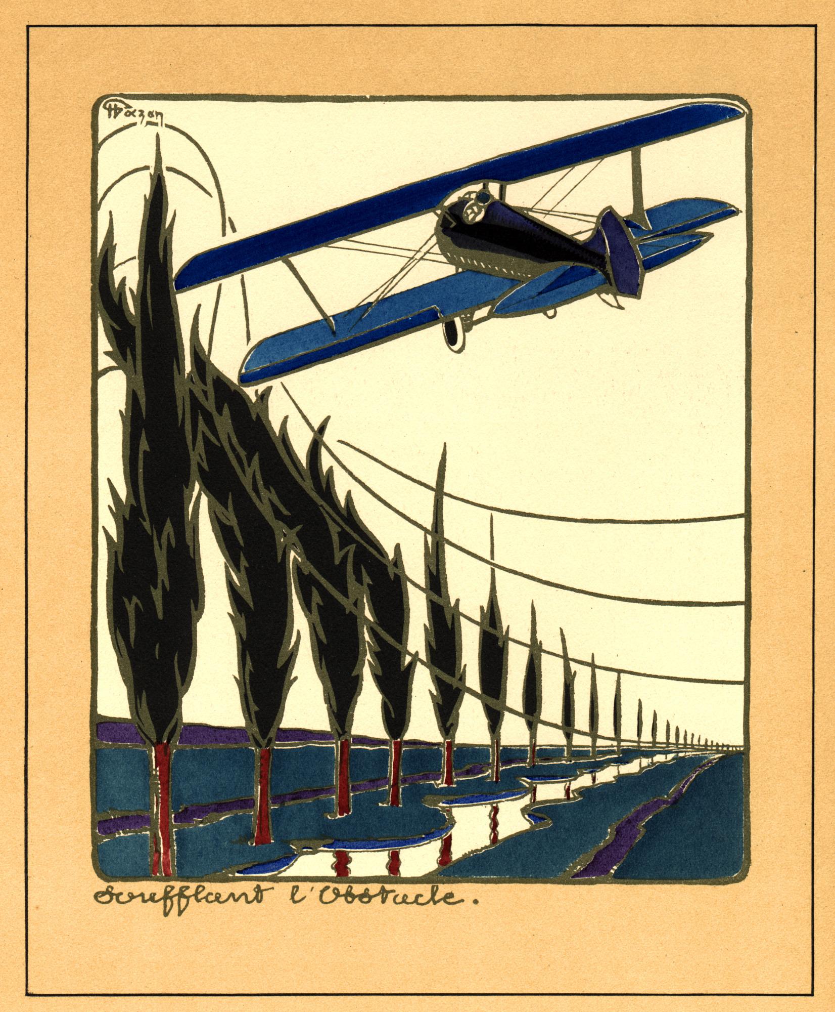 Les Appareils SPAD Construits par Blériot Aéronautique Sales Brochure