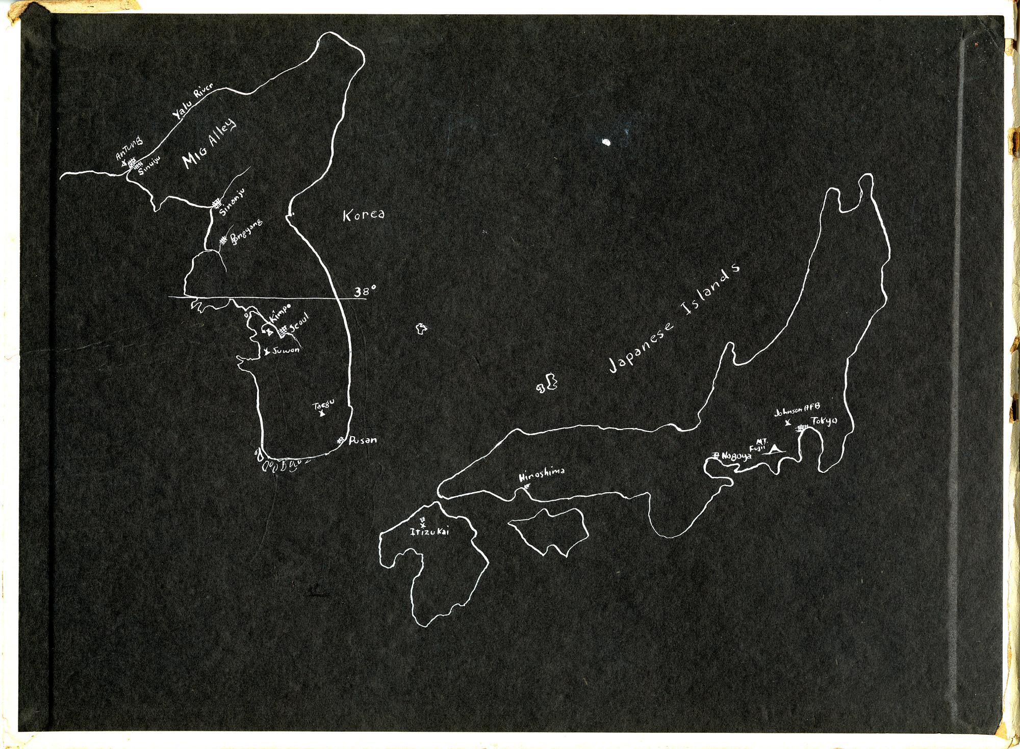 Ward Hitt Jr. Korean War Scrapbook