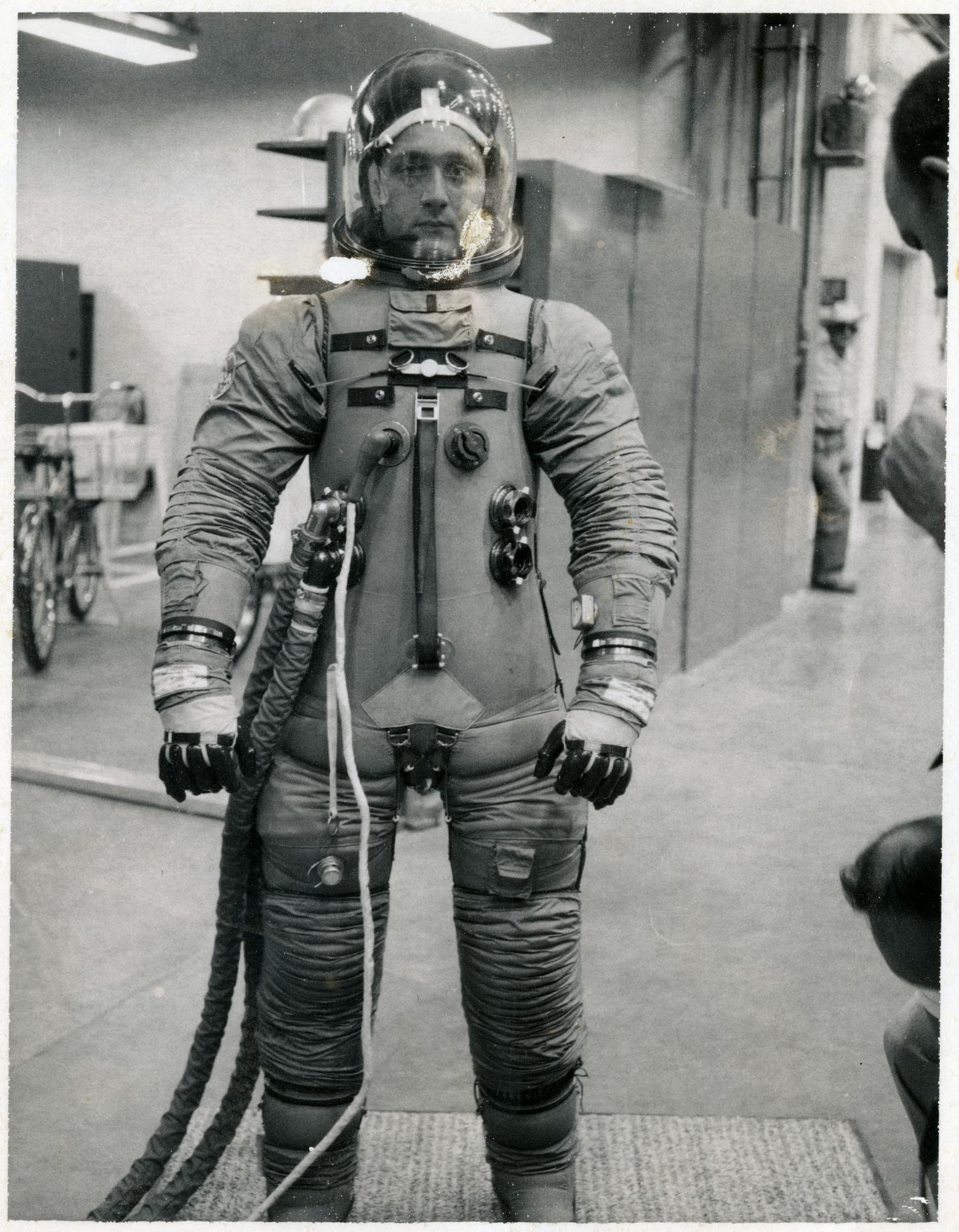 Apollo Space Suit Testing Photographs Masiello