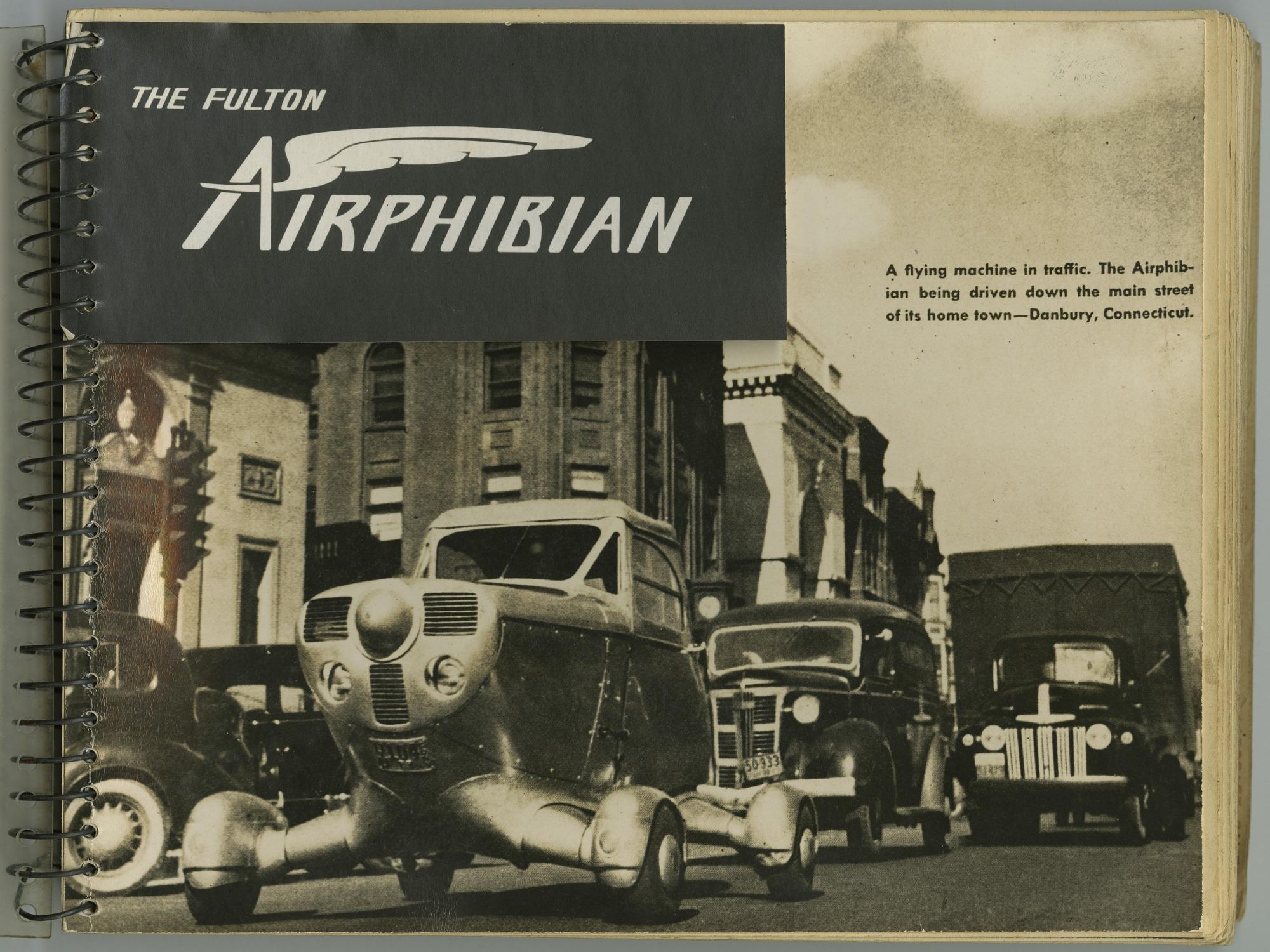 Fulton Airphibian Continental, Inc. Sales Brochure