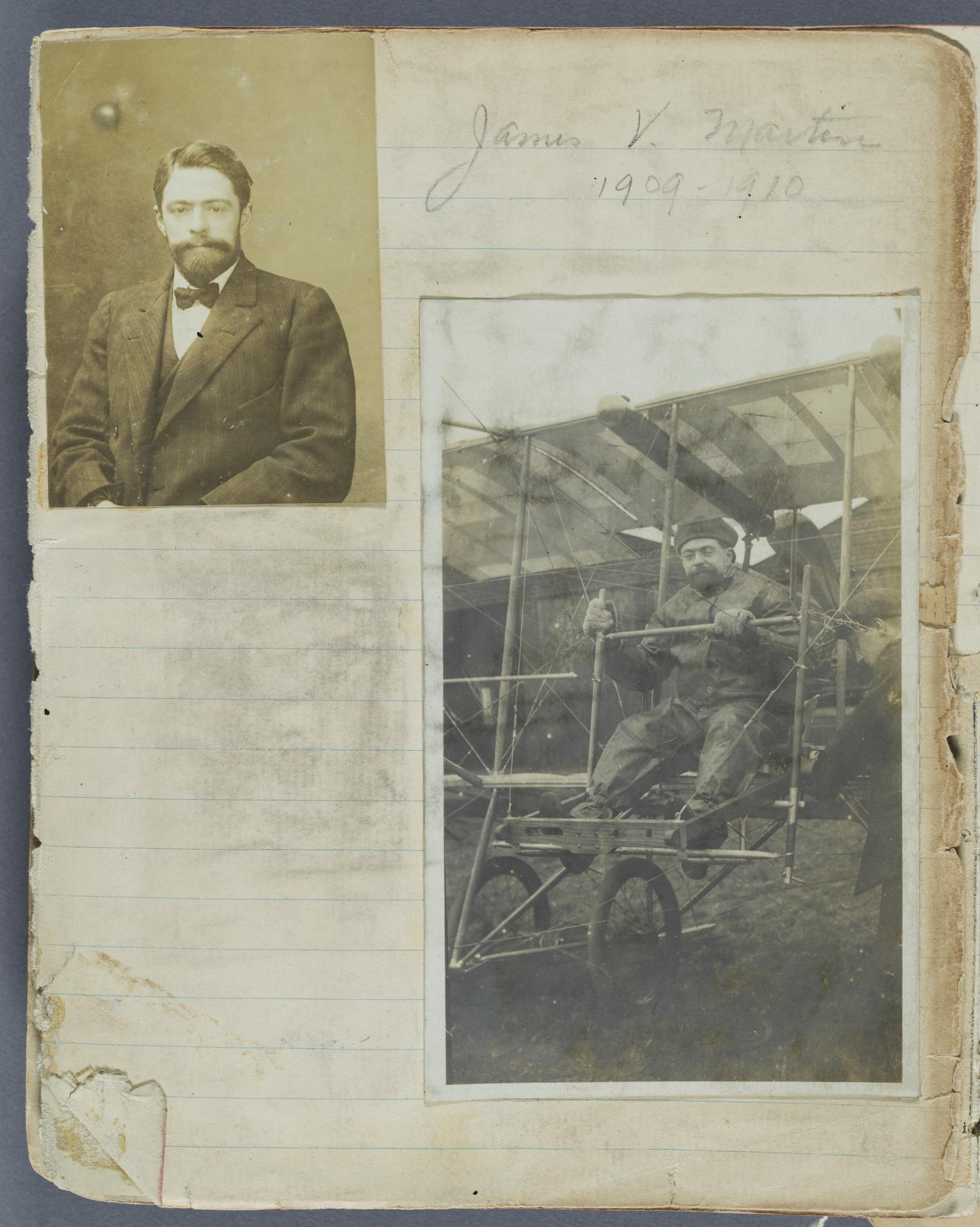 James V. Martin Scrapbook