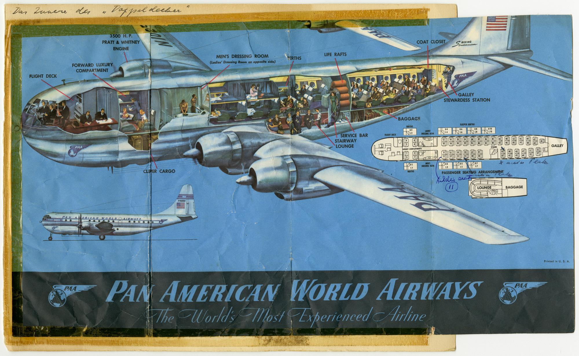 Pan American Airways (Pan Am) Flight Memorabilia Piloty