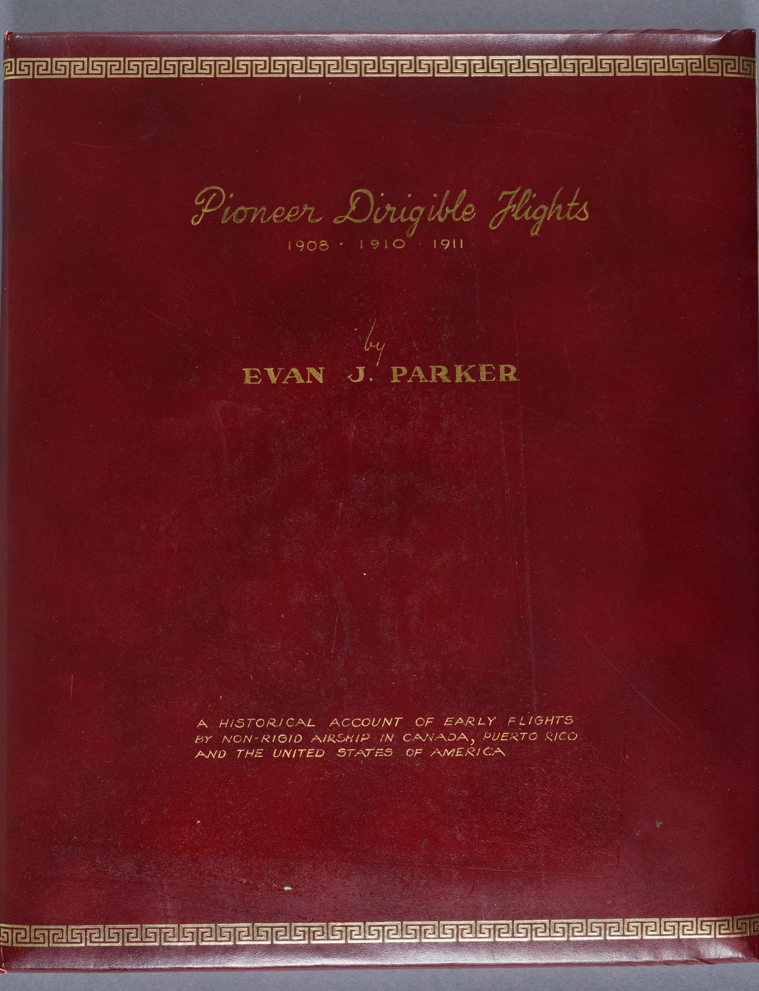 Evan J. Parker Scrapbook