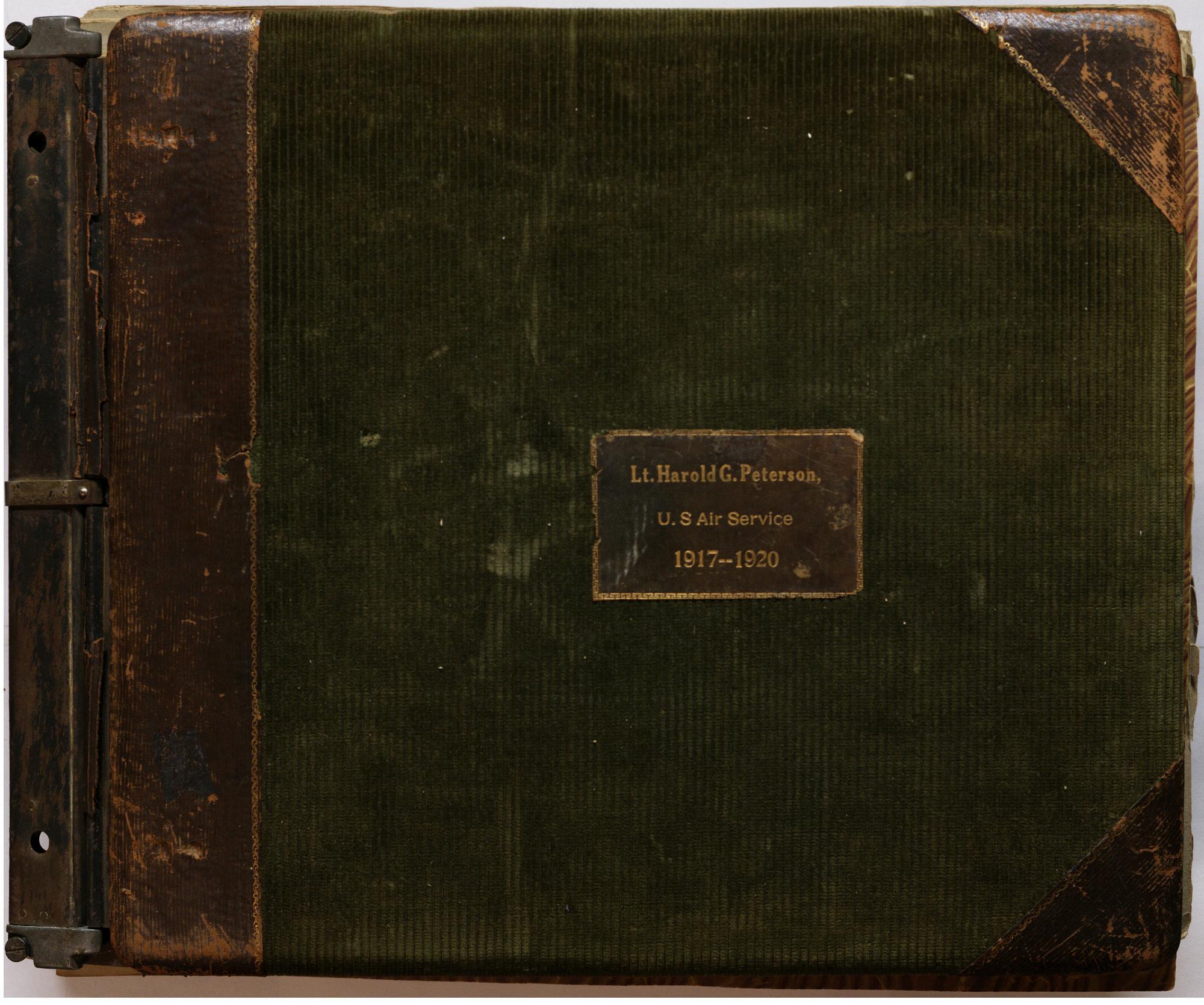 Lieutenant Harold G. Peterson Scrapbook