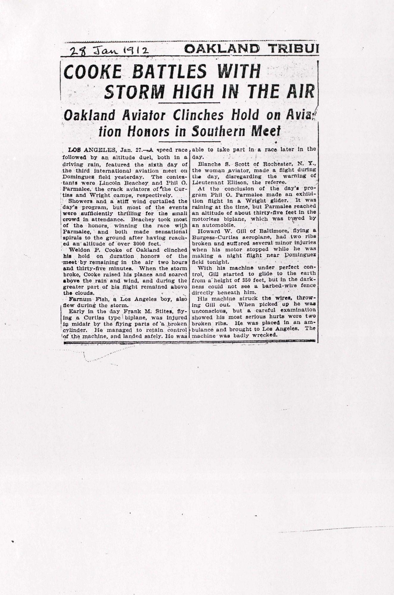 Newspaper Articles