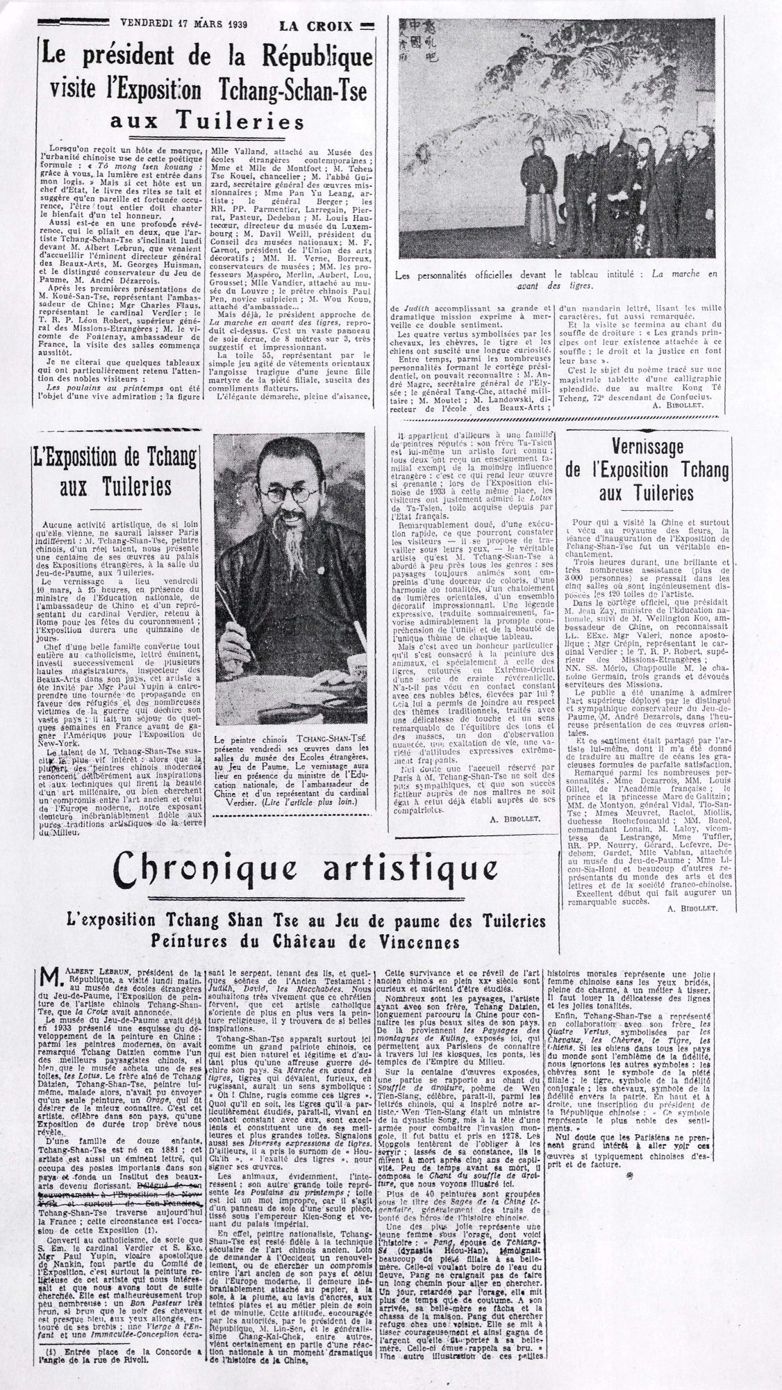 Newspaper clippings -- Dutch and French Language (untranslated)