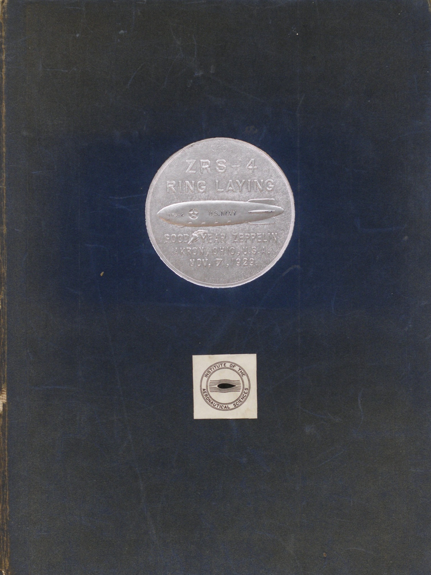 ZRS-4 Ring Laying Commemorative Book